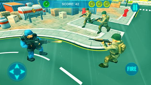 Commando on front line!! Killing with guns' game screenshot 6