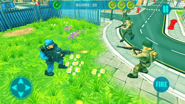 Commando on front line!! Killing with guns' game screenshot 9
