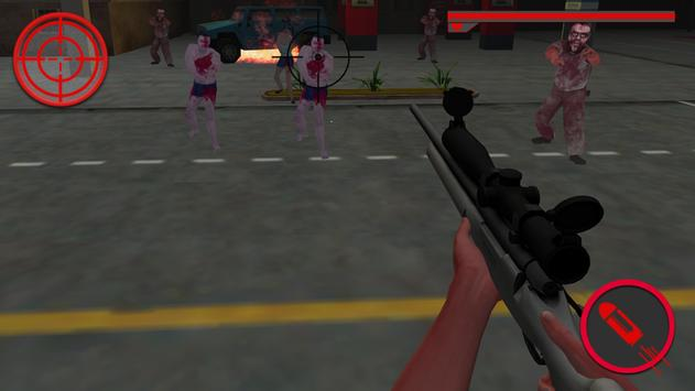 Sniper Assault:Zombie 3D apk screenshot
