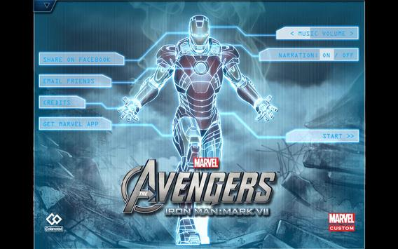 The Avengers-Iron Man Mark VII poster