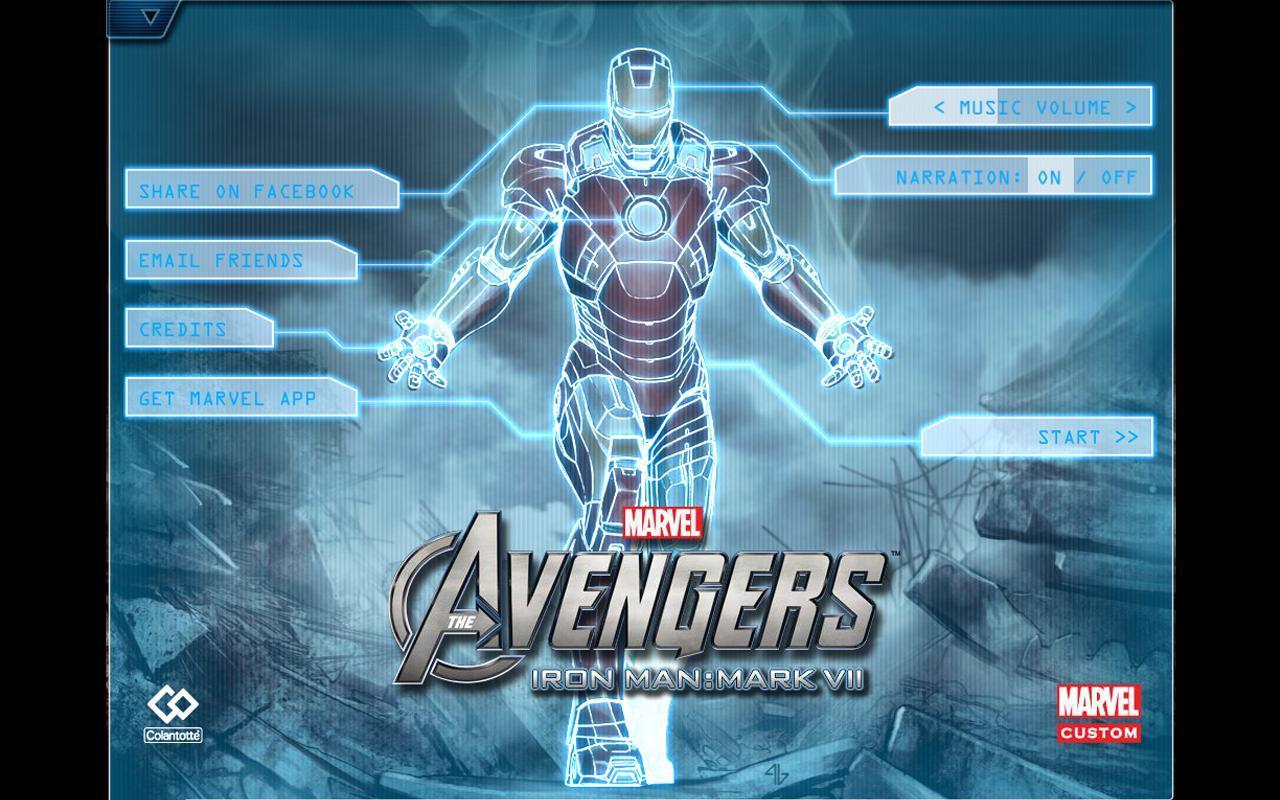 Iron Man Game App