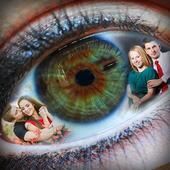 Eye Dual Photo Frame icon