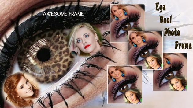 Eye Dual Photo Frame screenshot 1