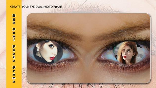Eye Dual Photo Frame screenshot 2