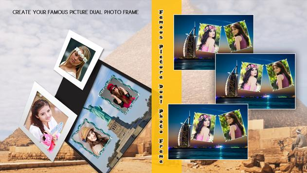 Famous Picture Dual Photo Frame poster