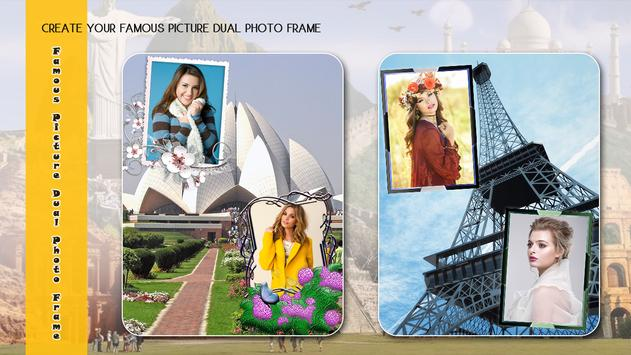 Famous Picture Dual Photo Frame screenshot 3