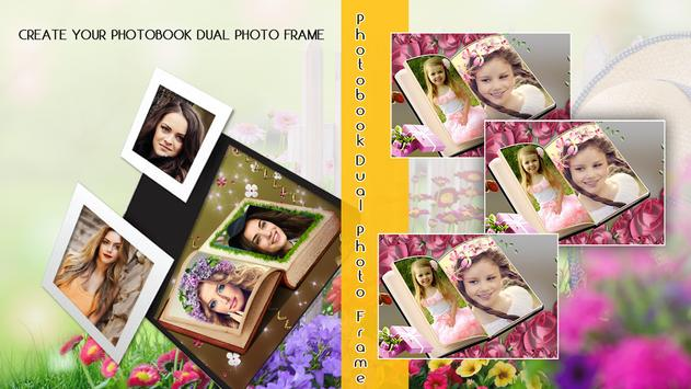 Photobook Dual Photo frame poster