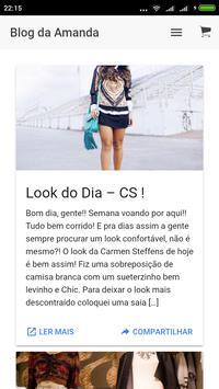 Blog Amanda Coutinho apk screenshot