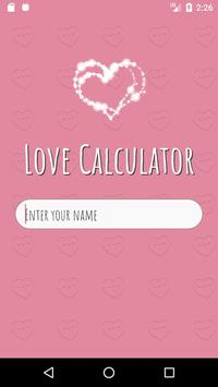 Love Calculator स्क्रीनशॉट 1