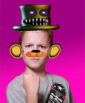 photo editor for fnaf stickers world poster
