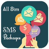 All Sim SMS Packages Pakistan icon