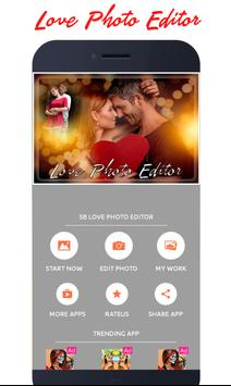 Love Photo Editor And Frames 2018 poster