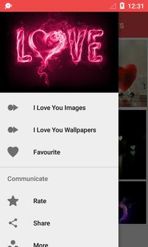 I Love You Wallpaper screenshot 2