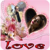 صورتك و صورة حبيبك في اطارات و خلفيات رومانسية icon