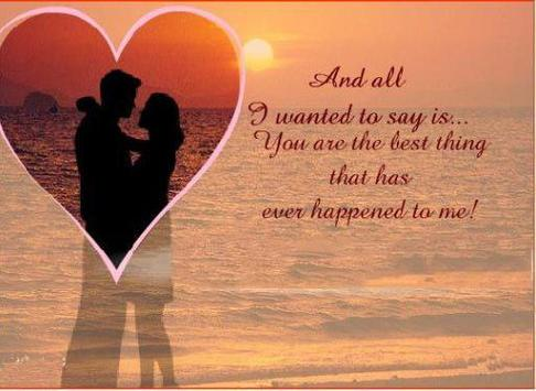 Love images and messages poster