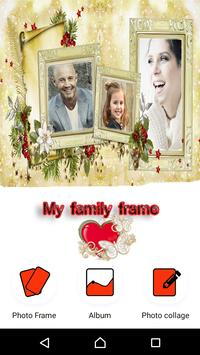 My family frame & Image Editor poster