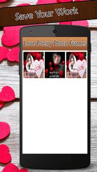 Love Poetry Photo Frames 2017 screenshot 5