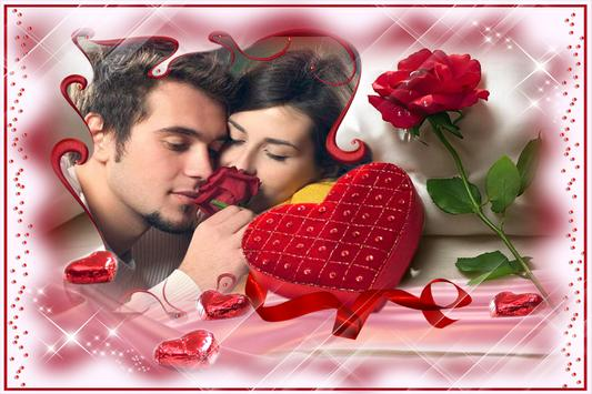 Romantic Love Photo Frames HD poster