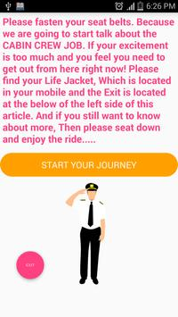 Cabin Crew Basic Knowledge poster