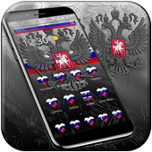 Russia Flag Theme icon