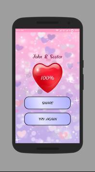 Fingerprint Love  Scanner poster