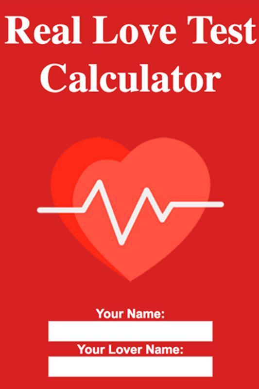 Real Love Test Calculator Screenshot 1