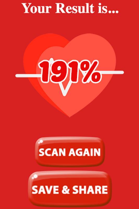 Real Love Test Calculator Screenshot 2