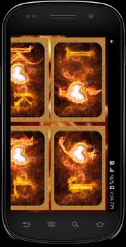 Fire Text Photo frames screenshot 3
