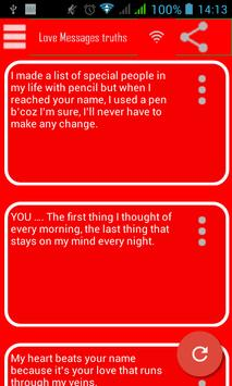 Love Messages Truths apk screenshot