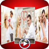 Love Video Maker With Song icon