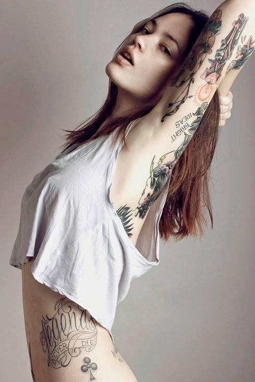Girl wallpaper hd hot tattoo Hot girls