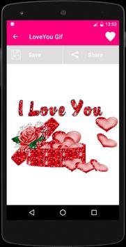 I Love you Animated Gif apk screenshot