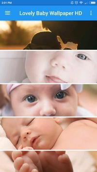 Lovely Baby Wallpaper HD screenshot 1