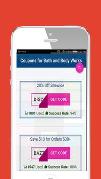 Gifts my bath and body works coupons screenshot 2