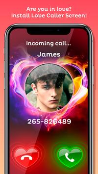 Love Caller Screen تصوير الشاشة 2