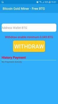 Bitcoin Gold Miner - Free BTG screenshot 3