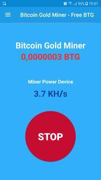 Bitcoin Gold Miner - Free BTG screenshot 1