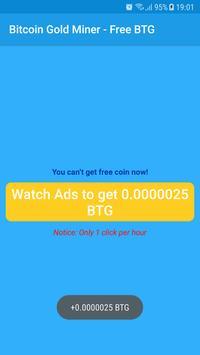 Bitcoin Gold Miner - Free BTG screenshot 4