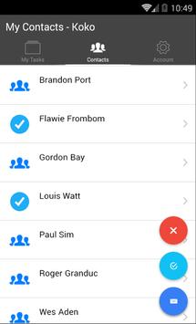 Contact Memo screenshot 2
