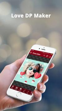 Love DP Photo Editor - Love DP Dp Maker screenshot 4