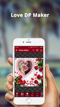 Love DP Photo Editor - Love DP Dp Maker screenshot 1