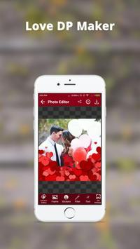 Love DP Photo Editor - Love DP Dp Maker screenshot 2