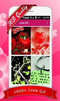 Love Gif poster