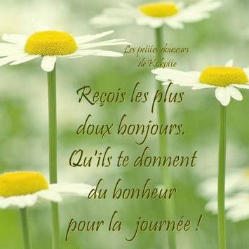Bonjour les voeux-gm wish apk screenshot