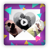 Love Heart Video Editor icon