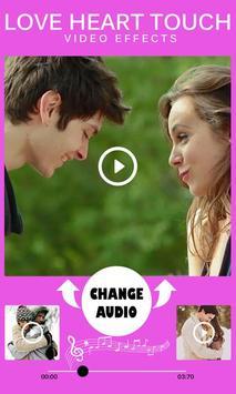 Love Heart Touch Video Effects screenshot 4