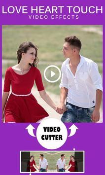 Love Heart Touch Video Effects screenshot 10