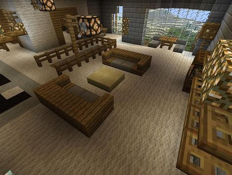 Cool Furniture Ideas Minecraft screenshot 4