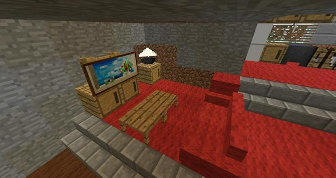 Cool Furniture Ideas Minecraft screenshot 5