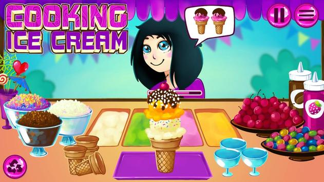 Cooking Ice Cream poster